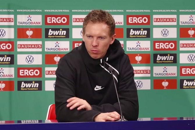 """Nagelsmann: """"BVB-Spiel war eine Warnung für uns"""""""