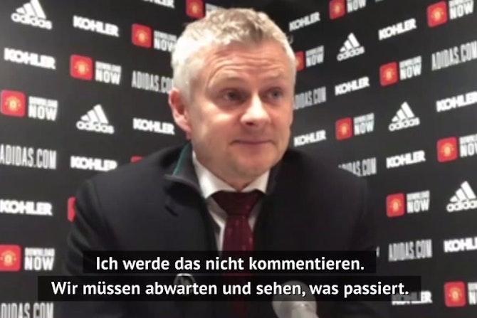 Solskjaer und Co.: Trainer-Reaktionen zur Super League