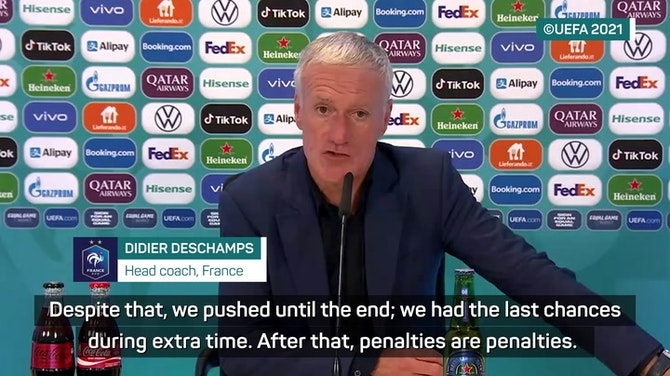 Preview image for Deschamps and France fans dissect shock Euros exit