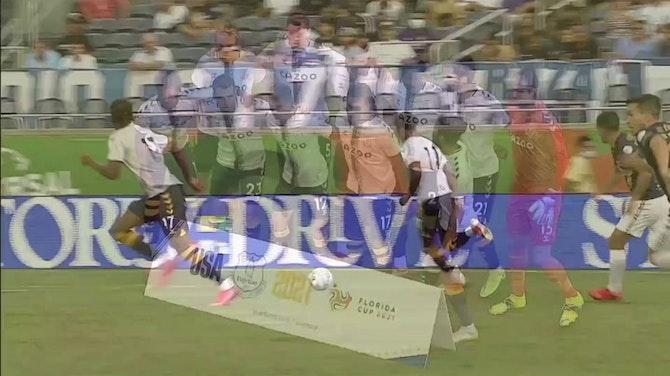 Imagen de vista previa para El Everton se impone por 1-0 al Pumas UNAM en Florida