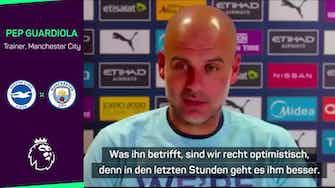 """Vorschaubild für Guardiola wendet sich an Fan: """"Umarmen ihn herzlich"""""""