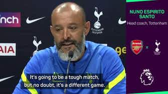 Preview image for North London derby more than 'another game', admits Nuno