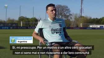 """Anteprima immagine per Preoccupazione Scaloni: """"Vorrei Dybala e Aguero ma..."""""""