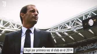 Imagen de vista previa para La exitosa primera etapa de Allegri en la Juventus
