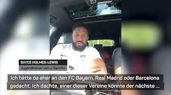"""Vorschaubild für Sanchos Jugendtrainer: """"United nicht auf dem Radar"""""""