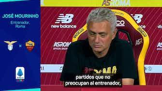 """Imagen de vista previa para Mourinho: """"Los derbis son partidos bonitos para jugar"""""""