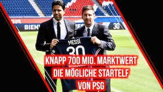 Vorschaubild für Knapp 700 Mio. Euro Marktwert: Die mögliche Startelf von PSG