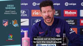 Preview image for Simeone concerned by early Atleti tempo