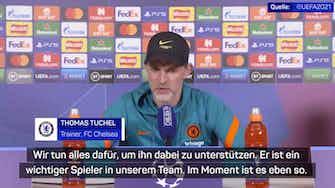 """Vorschaubild für Havertz nicht in Top-Form? Tuchel: """"Tatsache!"""""""