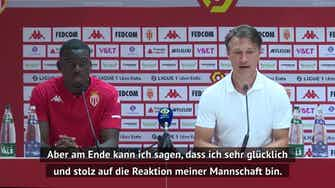 """Vorschaubild für Kovac nach Monaco-Debüt: """"Auf dem richtigen Weg"""""""