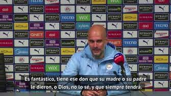 """Imagen de vista previa para Guardiola, sobre Agüero: """"¿Para qué añadir algo más?"""""""