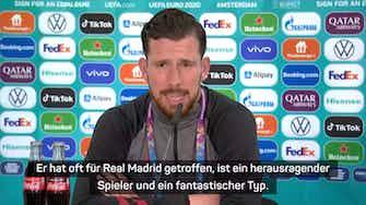 """Vorschaubild für Hojbjerg adelt Bale: """"Ein fantastischer Spieler"""""""