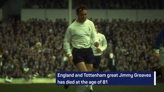 Preview image for Breaking News - Jimmy Greaves dies at 81