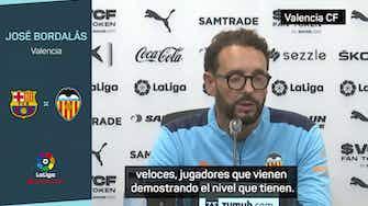 """Imagen de vista previa para Bordalás: """"La marcha de Messi no mermará mucho tiempo, tienen grandes jugadores"""""""