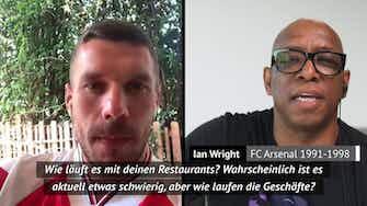"""Vorschaubild für Podolski zu Wright: """"Du isst wohl viele Döner"""""""