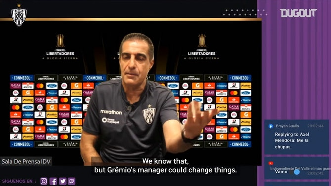 Preview image for Renato Paiva: 'We need to be ourselves against Grêmio'