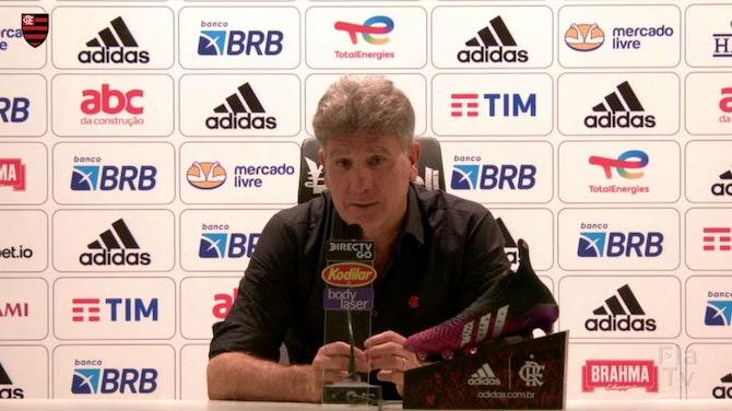 Imagem de visualização para Renato Gaúcho explica situação de Pedro no Flamengo