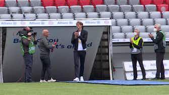 Vorschaubild für Goldener Besuch: Olympiasieger Zverev kickt für Bayern