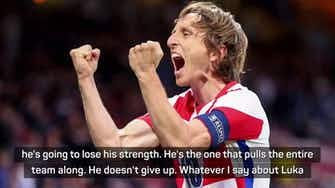 Preview image for Croatia coach Dalic full of praise for Modric after Scotland win