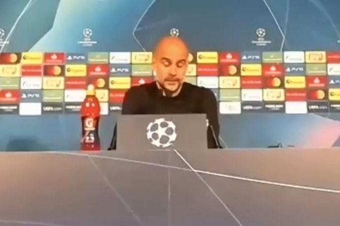 Pep and City masterclass? We can't do a different way, Pep Guardiola