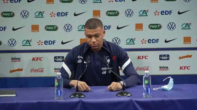 Mbappé press conference  ©️UEFA 2021