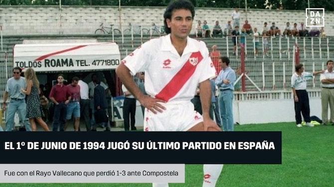 Imagen de vista previa para 26 años desde el último partido de Hugo Sánchez en España