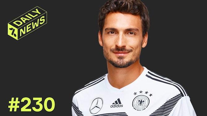 Vorschaubild für Hummels und Müller zur EM! Marco Reus verzichtet!