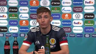 Preview image for Proud to make my Scotland debut against England I England 0-0 Scotland I Billy Gilmour