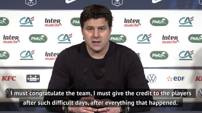 Preview image for Pochettino praise for robbery pair after Coupe de France victory