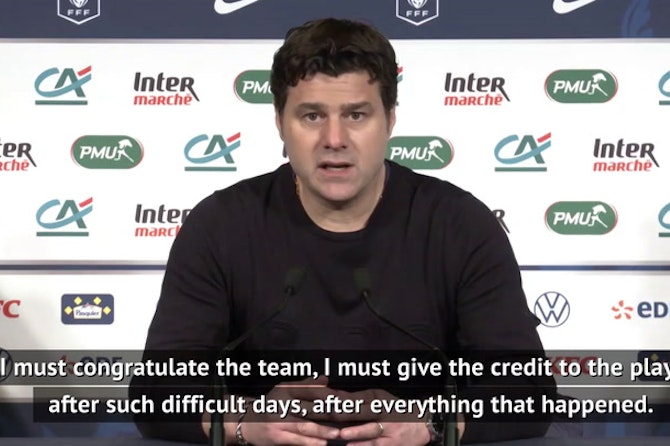 Pochettino praise for robbery pair after Coupe de France victory