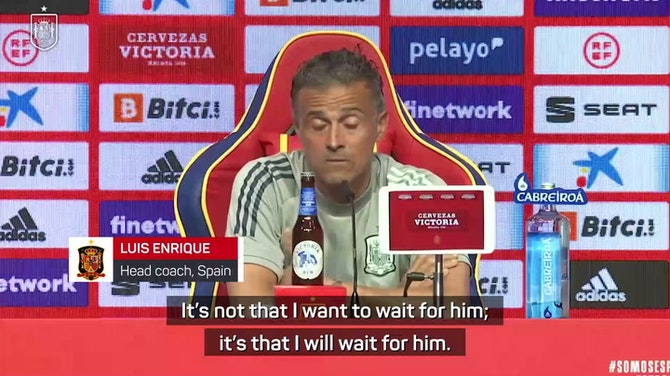 Preview image for Enrique willing to wait for Busquets to recover from Covid