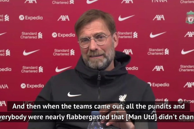 Klopp admits to sneaking regard for Solskjaer ahead of United clash