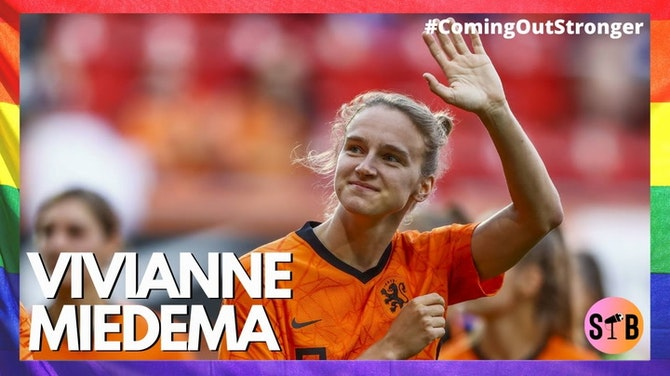 Preview image for Celebrating Vivianne Miedema   #ComingOutStronger