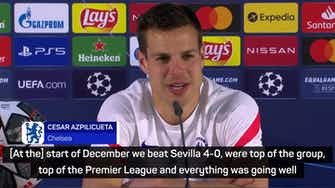 Preview image for Azpilicueta and Chelsea out to 'make history' and prove the doubters wrong