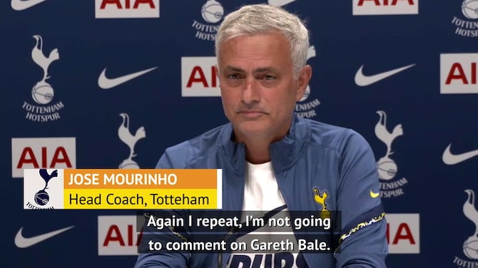 Preview image for Mourinho and Dier discuss Bale Spurs rumours