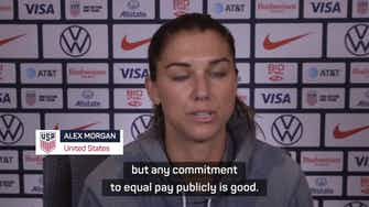 Preview image for Morgan cautiously 'optimistic' of US Soccer's equal pay offer