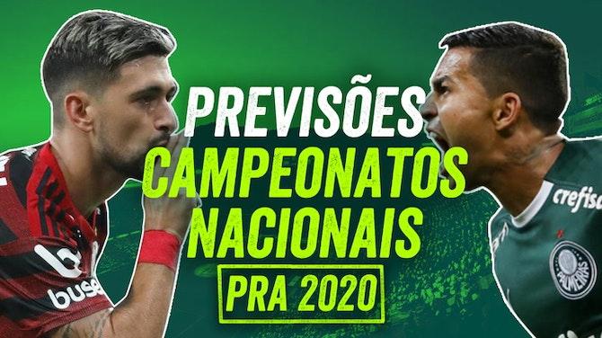 Imagem de visualização para Quem será CAMPEÃO em 2020? Previsões do ONEFOOTBALL pra esse Ano Novo | Resenhas e Opiniões