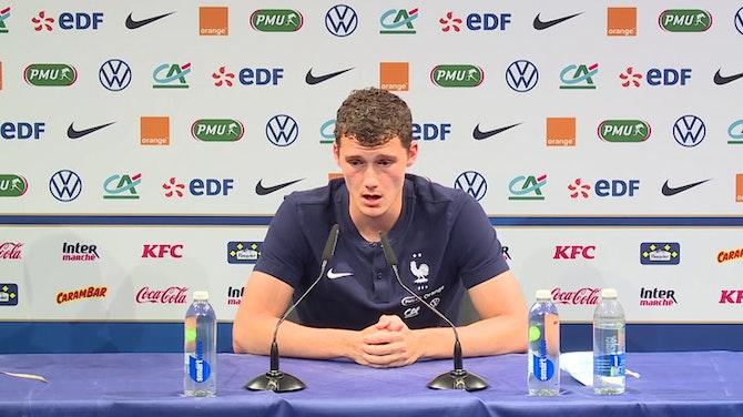 """Bleus - Pavard : """"J'ai engrangé de l'expérience avec le Bayern"""""""