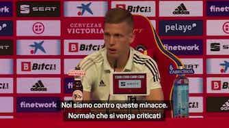 """Anteprima immagine per Dani Olmo: """"Minaccia a Morata? Inaccettabile"""""""