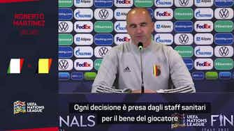 """Anteprima immagine per Martinez: """"Lukaku out con l'Italia"""""""