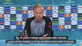 """Imagen de vista previa para Schmeichel: """"No he hablado con mi padre sobre la Eurocopa de 1992"""""""
