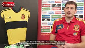 Imagem de visualização para Casillas relembra duelo da Espanha contra a Itália na Euro de 2008