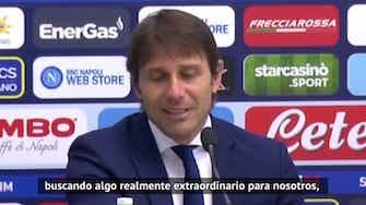 """Imagen de vista previa para Conte sobre la Superliga: """"Ya tendremos tiempo"""""""