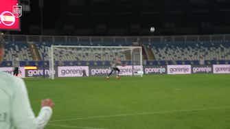 Imagen de vista previa para Goles y paradas increíbles en el entrenamiento de España