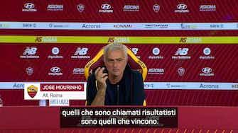 """Anteprima immagine per Mourinho: """"Io e Max risultatisti...e ringrazio Dio"""""""