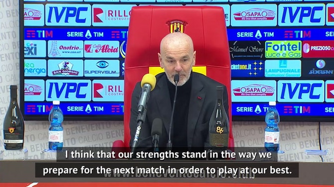 Preview image for Pioli hails 'ambitious' Milan as Rossoneri return to top of Serie A