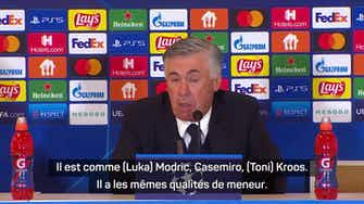 """Image d'aperçu pour Groupe D - Ancelotti : """"Benzema a encore plus de leadership"""""""