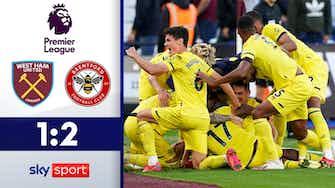 Vorschaubild für Siegtreffer in der 94. Minute! | Highlights: West Ham - Brentford 1:2