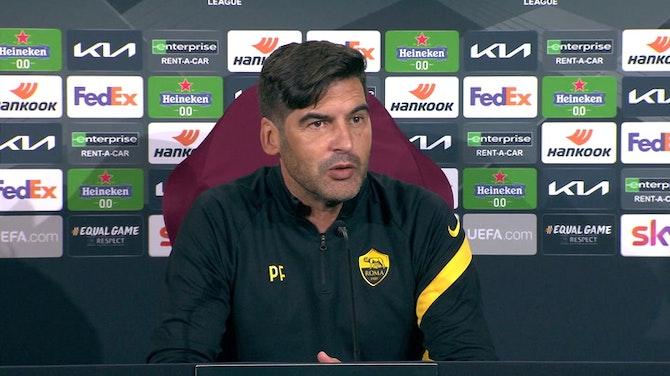 "Fonseca: ""Mourinho? Grande tecnico, farà bene a Roma"""