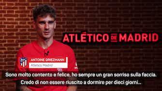 """Anteprima immagine per Griezmann su Simeone: """"Gli devo tanto, un onore giocare di nuovo per lui"""""""